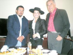 TALAGANTE: CON LA PRESENCIA DEL ALCALDE  SE  DIO EL VAMOS A FESTIVAL FOLCLORICO