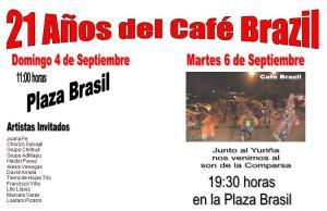 CAFÉ BRAZIL TIRA LA CASA POR LA VENTANA EN SUS 21 AÑOS