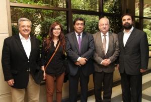 Provechoso encuentro de Ministro Osorio con bancada  PC-IC
